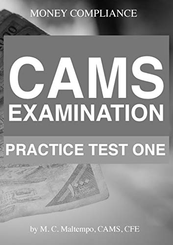 (CAMS Examination Practice Test One)