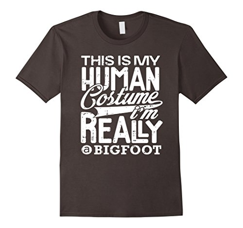 Costume Bigfoot Ideas (Mens Bigfoot Halloween Costume Shirt Funny Party Gifts Tee Large)