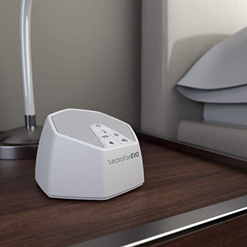 Evo White Machine with Non-Looping Fan Noise Timer