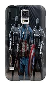 cool 3d movie stars tpu case/cover/shell for Samsung Galaxy s5 of Avengers Captain America in Fashion E-Mall by icecream design