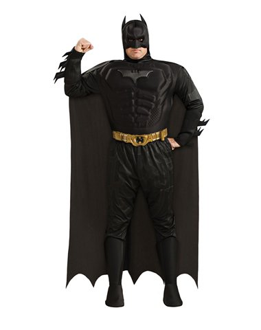 Rubies Costume Co Men's Batman The Dark Knight Deluxe Plus Size Costume