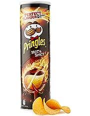 Pringles Hot & Spicy   scherpe chips   set van 6 stuks (6 x 200 g)
