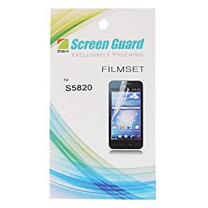 hao HD Screen Protector with Cleaning Cloth for Samsung Galaxy S5830