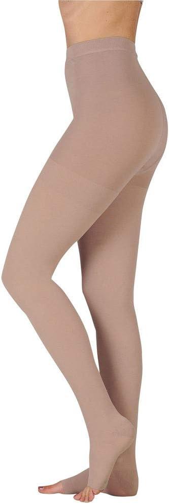 B003AKRW0S Juzo Basic Pantyhose 15-20mmHg Open Toe, IV, beige 41ctAsIvUUL