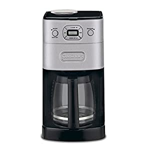 Cuisinart DGB625BC Grind-and-Brew 12-Cup Auto Coffeemaker : I had this product before and I really like it – I buy the coffee beans from a