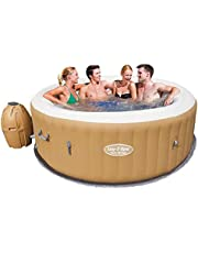 Bestway Portable Inflatable Spa Massage Hot Tub Lay Z Spa Outdoor Garden Bath Pool Summer