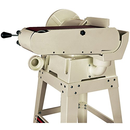 JET 708599K JSG-6DCK 6-Inch 12-Inch 1-1 2 Horsepower Open Stand Belt Disc Sander, 115-Volt 1 Phase