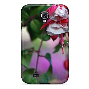 Cases Covers Red Flowers Hanging/ Fashionable Cases For Galaxy S4 Black Friday