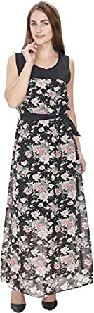 Rashi Creation Women's Maxi Multicolor Dress Dresses