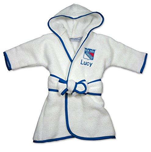 Personalized New York Rangers Baby Robe (New York Rangers Robe)
