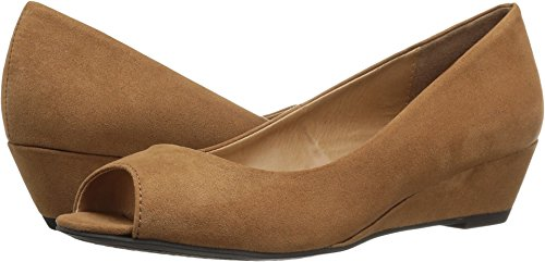 CL by Chinese Laundry Women's Hartley Wedge Pump, Luggage Super Suede, 6 M US ()