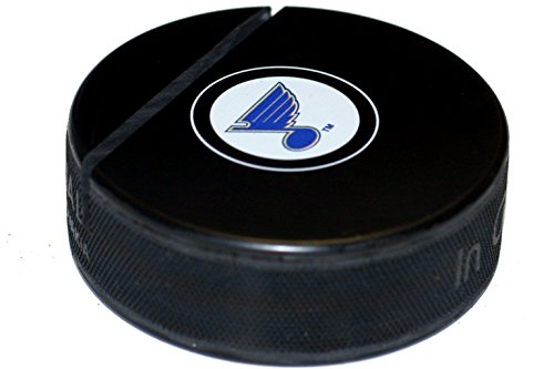EBINGERS PLACE St. Louis Blues Hockey Puck Business Card Holder