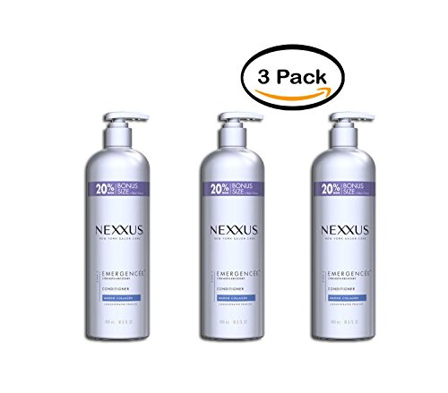 PACK OF 3 - Nexxus Emergencée for Weak and Damaged Hair Conditioner, 16.5 oz by Nexxus (Image #8)