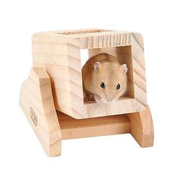 GHC Pet Supplies, Mascota de Madera Hamster balancín Tubo Tubo ...