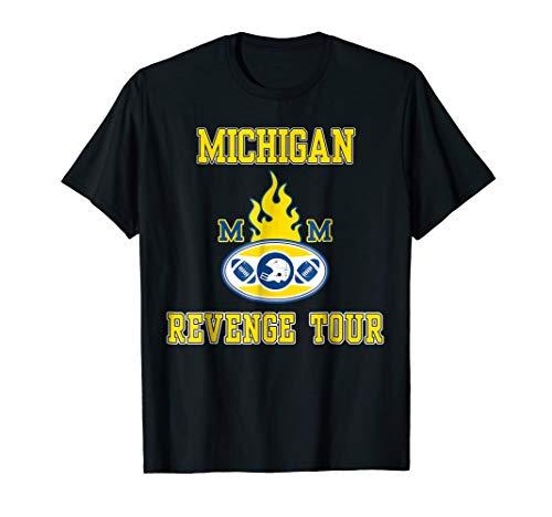 - Michigan Fans Revenge Football Tour Michigan Revenge T-shirt