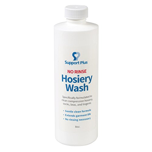 Support Plus Hosiery Wash - No Rinse Gentle Clean Formula - -