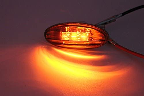 Beauneo 48 SMD COB LED T10 4W 12V White Light Car Interior Panel Lampadina a Cupola