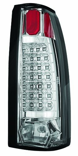 IPCW LEDT-301C Crystal Clear 21-LED Tail Lamp - Pair