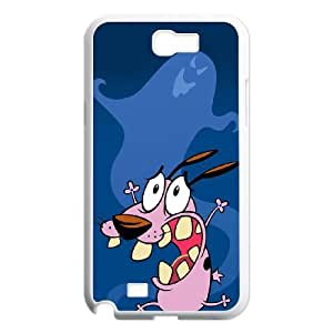 Samsung Galaxy Note 2 N7100 Phone Case Cover Courage the Cowardly Dog C8445