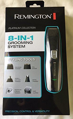 Remington Platinum Collection 8 in 1 grooming system Rechargeable In Box PG ()