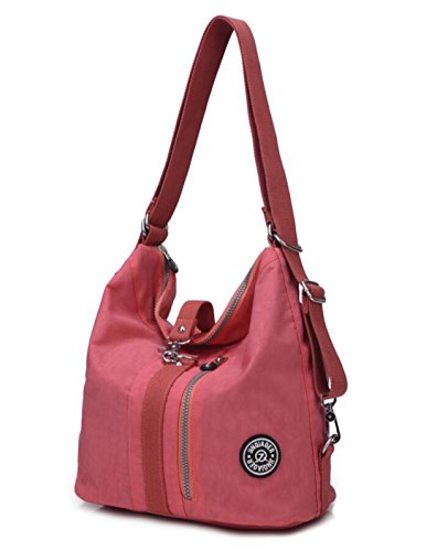 Watermelon Top Pink Women Handbag resistant Travel Handle Water Multipurpose Women's for Bag Shoulder Nylon Backpack Purse Fashion qUZxY4w