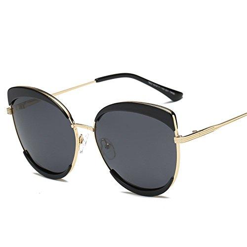 6 soleil de Cendres décoratifs métal de pour Lunettes de polarisés en verres dames Shop Lunettes lunettes Noires soleil polarisées soleil dqRdFw