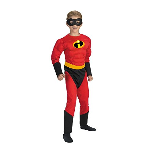Mr. Incredible Classic Muscle Child Costume - (Incredible Family Costumes)