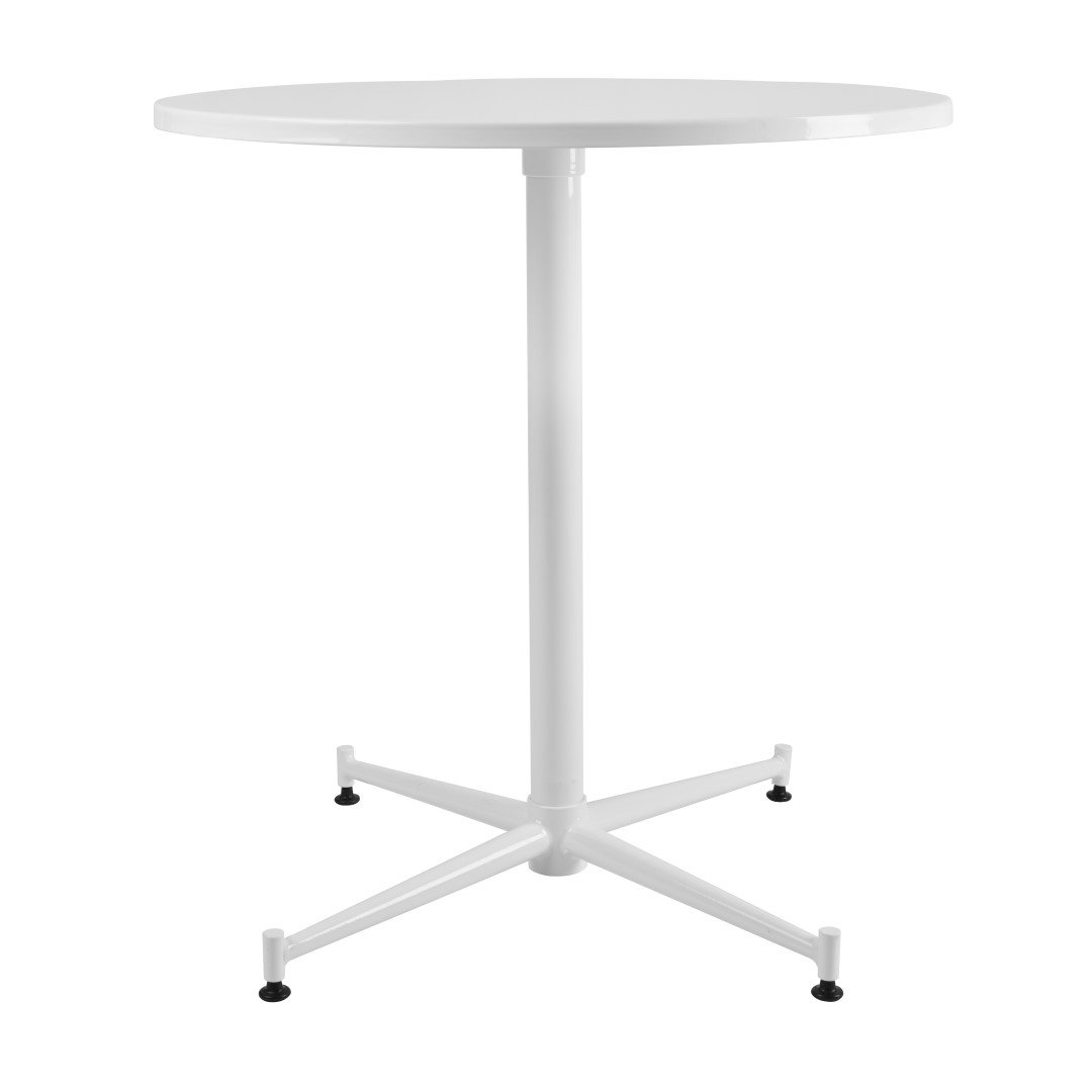 Porthos Home Bauhus Designs Vernon Table, White