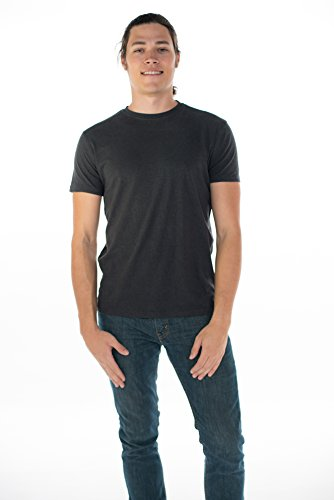 ONNO Men's Hemp T-Shirt L Charcoal