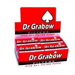 Dr. Grabow Pipe Filters - 12 Boxes of 10 Filters (Filters Pipe Tobacco)