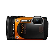 OLYMPUS digital camera STYLUS TG-860 Tough Orange waterproof 15m LCD TG-860 ORG