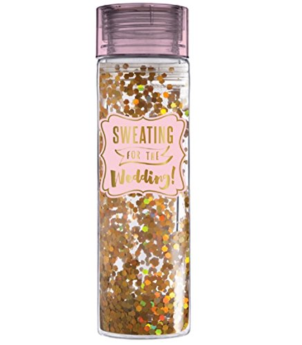 Slant - 16oz Double Wide Water Bottle Confetti - Sweating For the Wedding