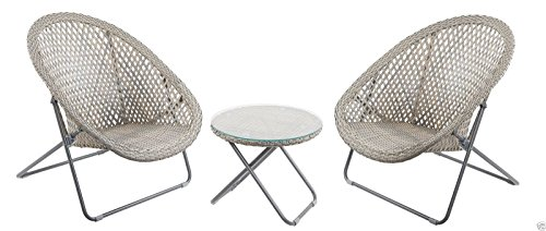 Folding Rattan Chairs