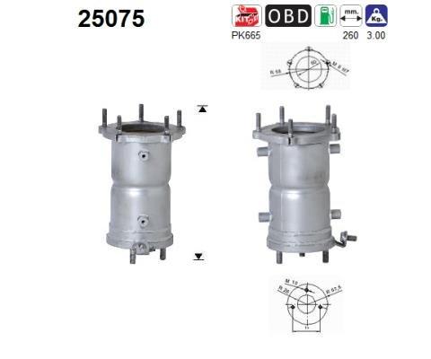 Preishammer u.a Abgasanlage Vorne Katalysator Mazda Katalysator f/ür