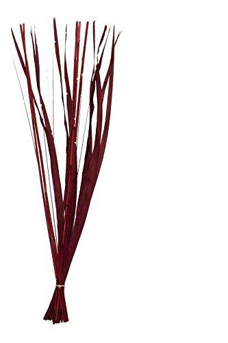 Renaissance 2000 84458 - Caña de Pescar Artificial (Madera de bigao), Color Rojo