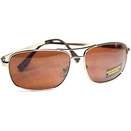 #RW3-S4 Road Warrior ® HD High Definition Driving Men's Aviator - Warrior Sunglasses Road