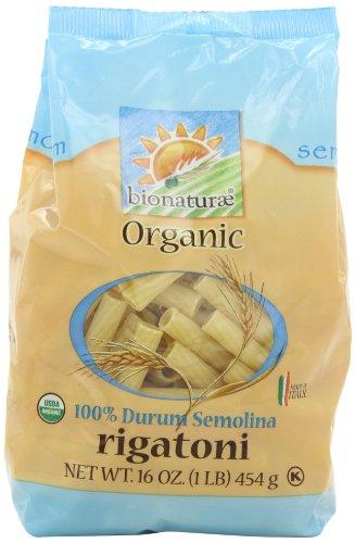 - bionaturae Organic Rigatoni, 16-Ounce Bags (Pack of 6)