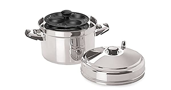 Amazon.com: tabakh IC-214 Acero Inoxidable Idli Cocina con ...
