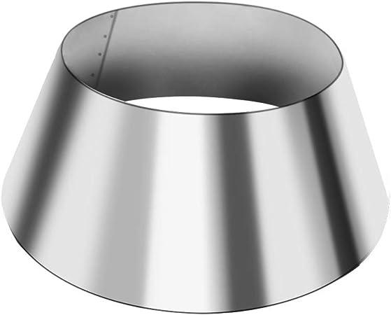 Outspark BBQ Whirlpool for Weber Kettle, 22/26.75 WSM Smokey Mountain, Medium Kamado, Big Green Egg, Stainless Steel