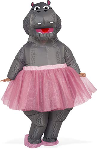 Rubie's Inflatable Hippo Adult Costume, As Shown, One Size