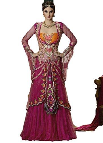 New-Designer-Wedding-Women-Wear-Pink-Ethnicwear-Lehenga-Choli