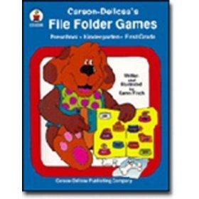 Carson-Dellosa's File Folder Games (preschool/kindergarten/first grade) ()