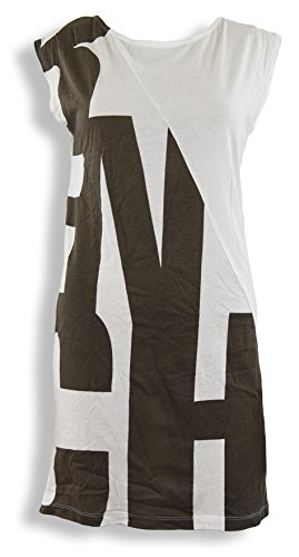 Bench Camiseta Vestido Big Smoke, color blanco Weiß