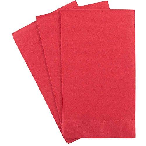 JAM Paper Bulk Rectangular Party Napkins / Guest Towels - 8