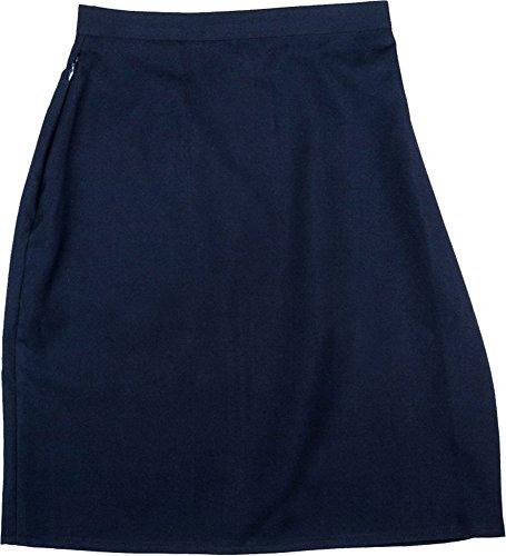 Gris Clepsydre Marine Crayon Travail Marine Filles Noir Uniforme Uni Femmes Coupe Jupe Bleu cole Jupe EWAPq7