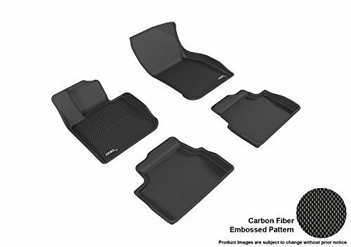 3D MAXpider L1MN01501509 Gray All-Weather Floor Mat for Select Mini Hardtop 4-Door Models Complete Set