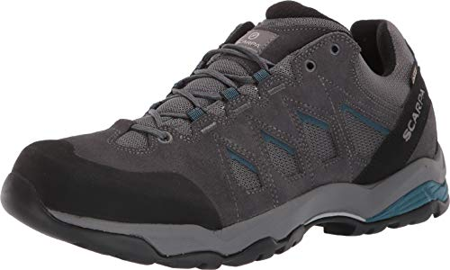 - SCARPA Men's Moraine GTX Light Hiking Shoe, Grey/Lake Blue, 44