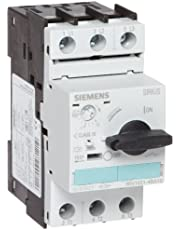 Siemens 3RV1021-4BA10 Motor Starter Protector, Screw Connection, 3RV102 Frame Size, 14-20 FLA Adjustment Range, 260A Instantaneous Short Circuit Release, 65kA UL Short Circuit Breaking Capacity at 480VAC