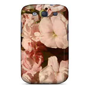 Premium Durable Carnations Fashion Tpu Galaxy S3 Protective Case Cover