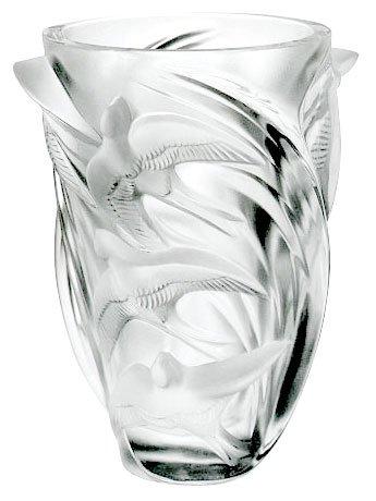 Amazon Lalique Crystal Vase Martinets 12308 Home Kitchen